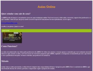 abbm.art.br screenshot