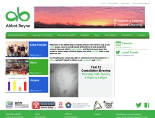 abbotbeyne.net screenshot
