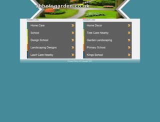 abbotsgarden.co.uk screenshot