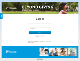 abbott.profits4purpose.com screenshot