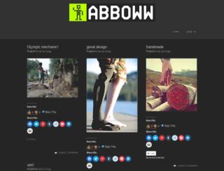 abboww.wordpress.com screenshot
