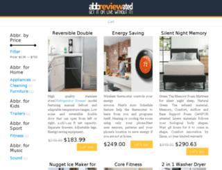 abbreviewated.com screenshot