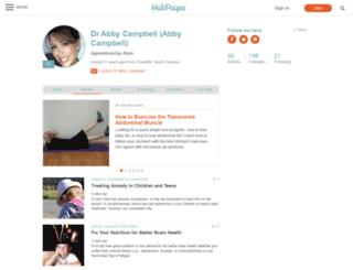 abbycampbell.hubpages.com screenshot