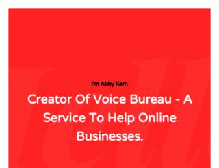 abbykerr.com screenshot