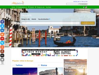 abbythetraveler.com screenshot