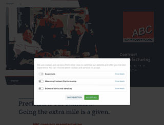 abc-auftragsfertigung.com screenshot