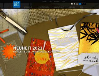 abc-cards.ch screenshot