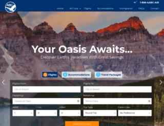 abc-charters.com screenshot