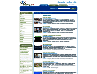 abc-directory.com screenshot