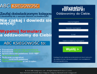 abc-ksiegowosc.com screenshot