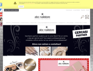 abc-nailstore.it screenshot
