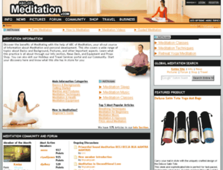 abc-of-meditation.com screenshot