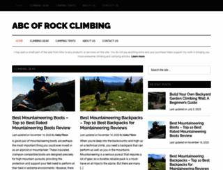 abc-of-rockclimbing.com screenshot