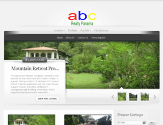 abc-realty-panama.com screenshot