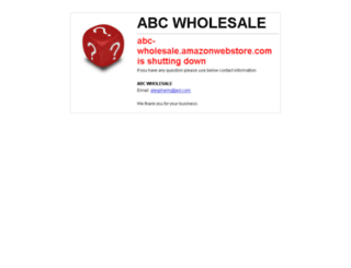 abc-wholesale.amazonwebstore.com screenshot