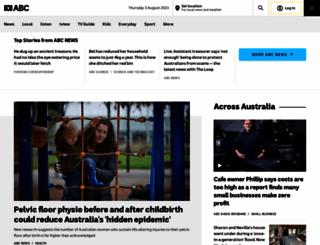 abc.com.au screenshot