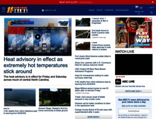 abc11.com screenshot