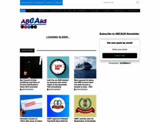 abcaus.in screenshot