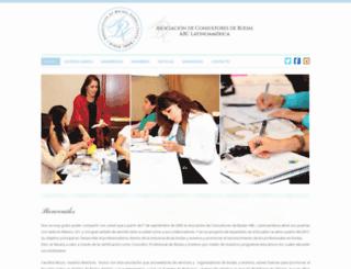 abcbridalecuador.com screenshot