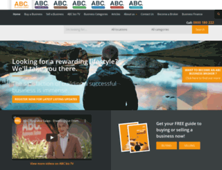 abcbusiness.co.nz screenshot