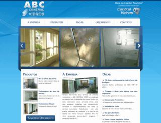 abccentralvidros.com.br screenshot