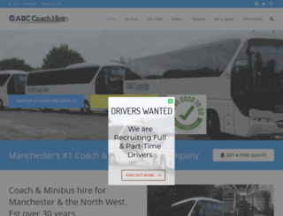 abccoachhire.co.uk screenshot