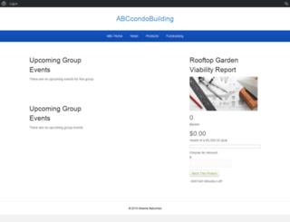 abccondobuilding.greenerbalconies.com screenshot