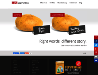 abccopywriting.com screenshot