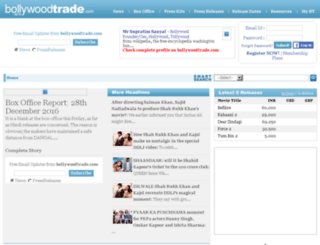 abcd.bollywoodtrade.com screenshot