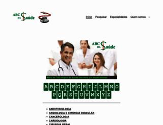 abcdasaude.com.br screenshot