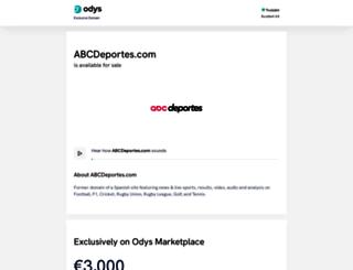 abcdeportes.com screenshot