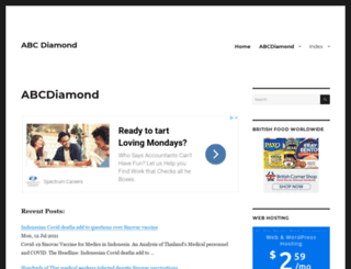 abcdiamond.com screenshot