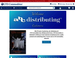 abcdistributing.com screenshot