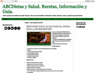 abcdukan.blogspot.com.es screenshot