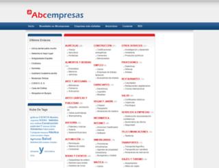 abcempresas.es screenshot