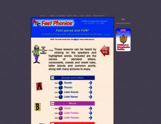 abcfastphonics.com screenshot
