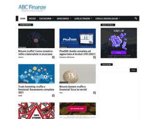 abcfinanze.com screenshot