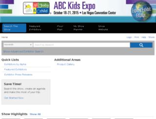 abckids13.mapyourshow.com screenshot