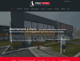 abcminet.fr screenshot