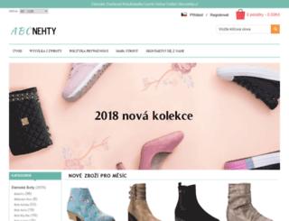 abcnehty.cz screenshot