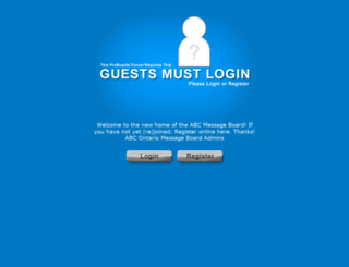 abcontario.freeforums.net screenshot