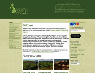 abcounties.co.uk screenshot