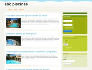 abcpiscinas.com screenshot