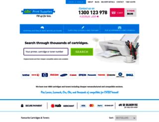 abcprintsupplies.myshopify.com screenshot