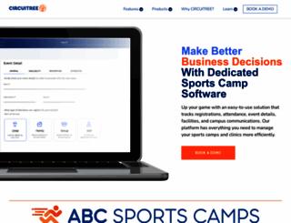 abcsportscamps.com screenshot
