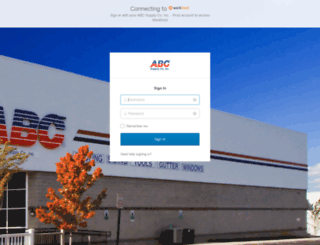 abcsupply.attask-ondemand.com screenshot
