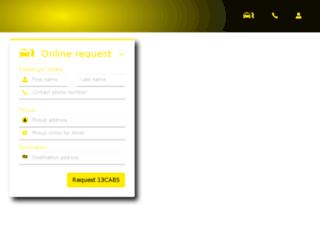 abctaxis.com.au screenshot