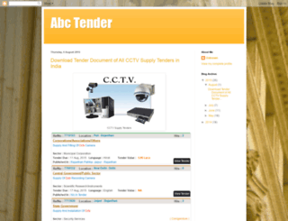 abctender.blogspot.com screenshot