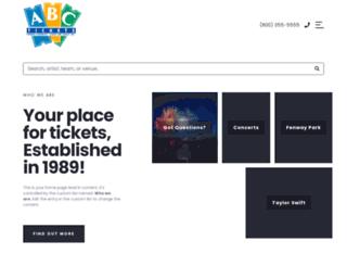 abctickets.com screenshot
