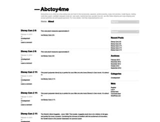 abctoy4me.wordpress.com screenshot